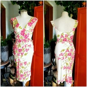 Tracy Reese Romantic Floral Dress Size 2